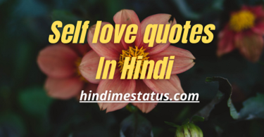 SELF LOVE QUOTES IN HINDI
